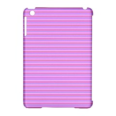 Lines Pattern Apple Ipad Mini Hardshell Case (compatible With Smart Cover) by Valentinaart