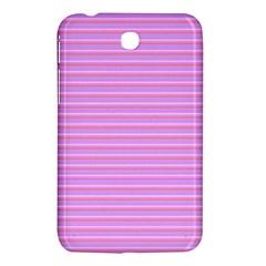 Lines Pattern Samsung Galaxy Tab 3 (7 ) P3200 Hardshell Case  by Valentinaart