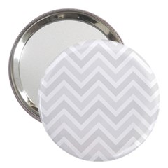 Zigzag  Pattern 3  Handbag Mirrors by Valentinaart