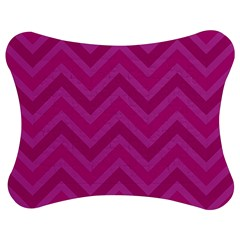 Zigzag  Pattern Jigsaw Puzzle Photo Stand (bow) by Valentinaart