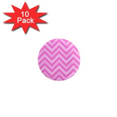 Zigzag  Pattern 1  Mini Magnet (10 Pack)  by Valentinaart