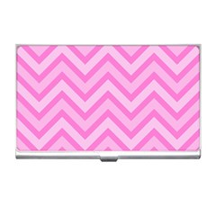 Zigzag  Pattern Business Card Holders by Valentinaart