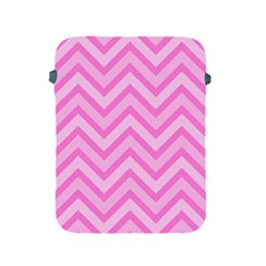 Zigzag  Pattern Apple Ipad 2/3/4 Protective Soft Cases by Valentinaart