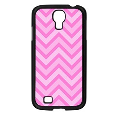 Zigzag  Pattern Samsung Galaxy S4 I9500/ I9505 Case (black) by Valentinaart