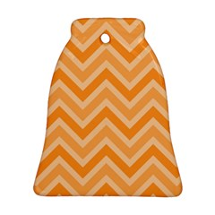 Zigzag  Pattern Bell Ornament (two Sides) by Valentinaart