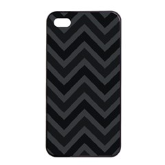 Zigzag  Pattern Apple Iphone 4/4s Seamless Case (black)