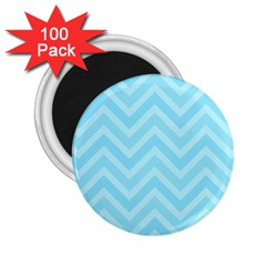 Zigzag  Pattern 2 25  Magnets (100 Pack)  by Valentinaart