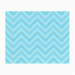 Zigzag  Pattern Small Glasses Cloth (2 Side) by Valentinaart