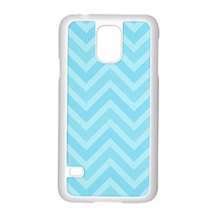 Zigzag  Pattern Samsung Galaxy S5 Case (white) by Valentinaart