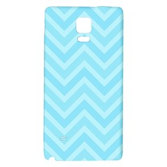 Zigzag  Pattern Galaxy Note 4 Back Case by Valentinaart