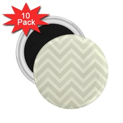 Zigzag  Pattern 2 25  Magnets (10 Pack)  by Valentinaart
