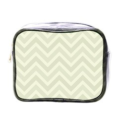 Zigzag  Pattern Mini Toiletries Bags by Valentinaart