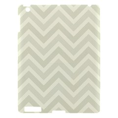 Zigzag  Pattern Apple Ipad 3/4 Hardshell Case by Valentinaart