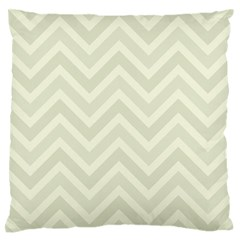Zigzag  Pattern Large Flano Cushion Case (two Sides) by Valentinaart