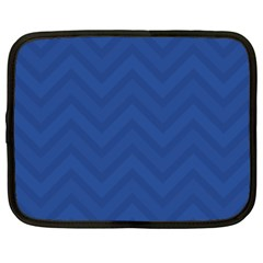 Zigzag  Pattern Netbook Case (xxl)  by Valentinaart