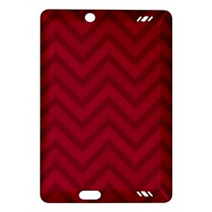 Zigzag  Pattern Amazon Kindle Fire Hd (2013) Hardshell Case by Valentinaart