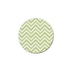 Zigzag  Pattern Golf Ball Marker by Valentinaart