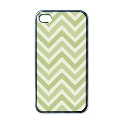 Zigzag  Pattern Apple Iphone 4 Case (black) by Valentinaart