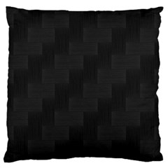 Zigzag  Pattern Large Cushion Case (two Sides) by Valentinaart