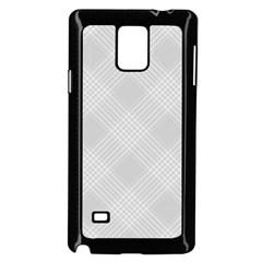 Zigzag  Pattern Samsung Galaxy Note 4 Case (black) by Valentinaart