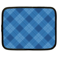 Zigzag  Pattern Netbook Case (large) by Valentinaart
