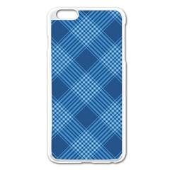 Zigzag  Pattern Apple Iphone 6 Plus/6s Plus Enamel White Case by Valentinaart