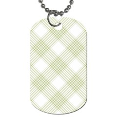 Zigzag  Pattern Dog Tag (one Side) by Valentinaart