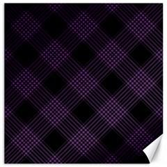 Zigzag Pattern Canvas 16  X 16   by Valentinaart