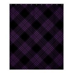 Zigzag Pattern Shower Curtain 60  X 72  (medium)  by Valentinaart