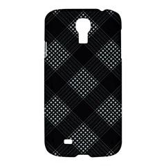 Zigzag Pattern Samsung Galaxy S4 I9500/i9505 Hardshell Case by Valentinaart