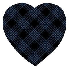 Zigzag Pattern Jigsaw Puzzle (heart) by Valentinaart