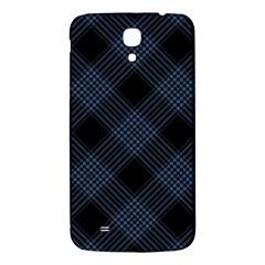 Zigzag Pattern Samsung Galaxy Mega I9200 Hardshell Back Case by Valentinaart