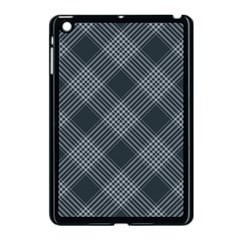 Zigzag Pattern Apple Ipad Mini Case (black) by Valentinaart