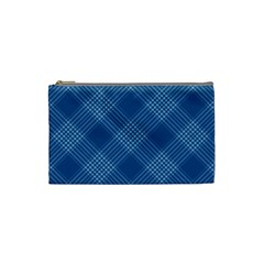 Zigzag Pattern Cosmetic Bag (small)  by Valentinaart