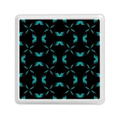 Background Black Blue Polkadot Memory Card Reader (square)  by Mariart