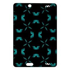 Background Black Blue Polkadot Amazon Kindle Fire Hd (2013) Hardshell Case by Mariart