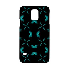 Background Black Blue Polkadot Samsung Galaxy S5 Hardshell Case  by Mariart