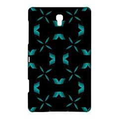 Background Black Blue Polkadot Samsung Galaxy Tab S (8 4 ) Hardshell Case  by Mariart