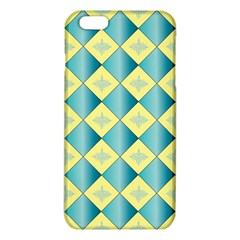 Yellow Blue Diamond Chevron Wave Iphone 6 Plus/6s Plus Tpu Case by Mariart