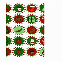 Christmas Large Garden Flag (two Sides) by Mariart