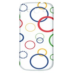 Circle Round Green Blue Red Pink Yellow Samsung Galaxy S3 S Iii Classic Hardshell Back Case by Mariart