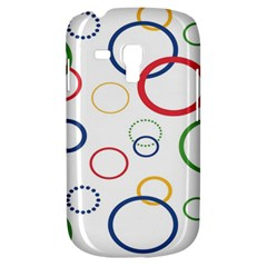 Circle Round Green Blue Red Pink Yellow Galaxy S3 Mini by Mariart