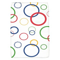 Circle Round Green Blue Red Pink Yellow Flap Covers (s)  by Mariart