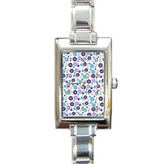 Buttons Chlotes Rectangle Italian Charm Watch by Mariart