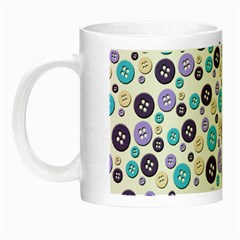 Buttons Chlotes Night Luminous Mugs by Mariart