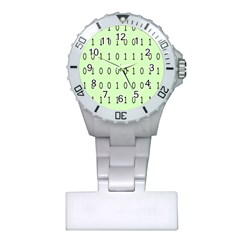 Code Number One Zero Plastic Nurses Watch by Mariart