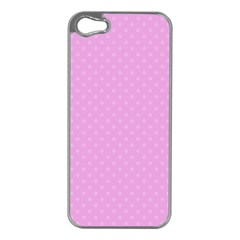 Dots Apple Iphone 5 Case (silver) by Valentinaart