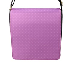 Dots Flap Messenger Bag (l)  by Valentinaart