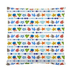 Coral Reef Fish Coral Star Standard Cushion Case (one Side) by Mariart