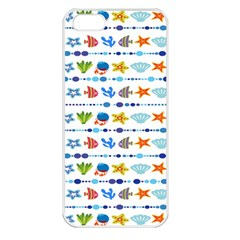 Coral Reef Fish Coral Star Apple Iphone 5 Seamless Case (white) by Mariart